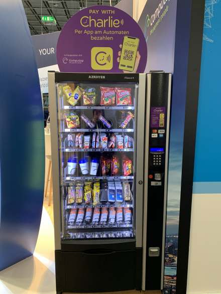 Pay With Charlie Snackautomat